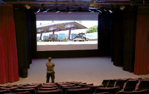 Chilwell School Cinema Projector Installation